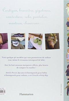 Livres Couvertures de Tricots intemporels pour bébés : Modèles de 0 à 2 ans ; Huit anneaux marqueurs offerts