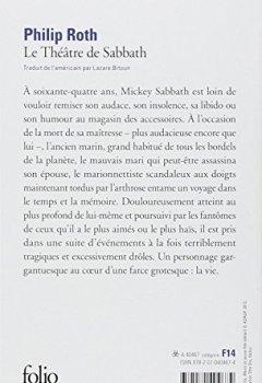 Livres Couvertures de Le Théâtre de Sabbath