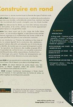 Livres Couvertures de Construire en rond : Yourtes, domes, zomes, ker-terre