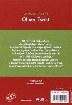 Livres Couvertures de Oliver Twist - Texte abrégé