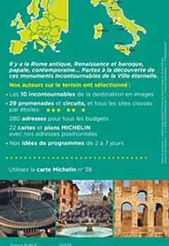 Livres Couvertures de Guide Vert Rome Michelin