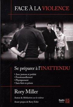 Livres Couvertures de Face à la violence, se préparer à l'inattendu