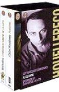 Michel Houellebecq, coffret de 3 volumes : Plateforme - Extension du domaine de la lutte - Les particules élémentaires