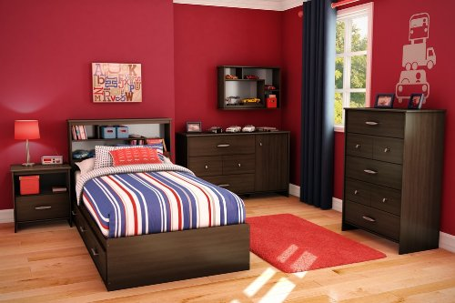 Image of Kids Bedroom Furniture Set - Highway - South Shore Furniture - 3679-BSET (3679-BSET)