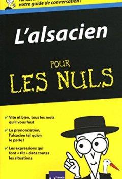 Livres Couvertures de L'Alsacien - Guide de conversation Pour les nuls