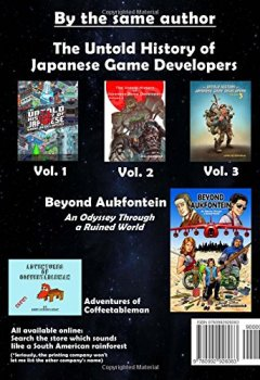 Livres Couvertures de The Untold History of Japanese Game Developers Volume 3: Monochrome