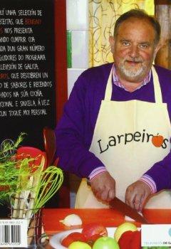 Portada del libro deA cociña de Larpeiros. 150 receitas (Libros singulares e fóra de colección)
