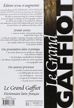 Livres Couvertures de Dictionnaire latin-français : Le grand Gaffiot