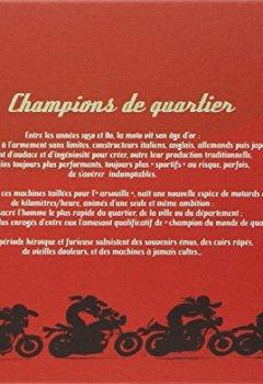 Livres Couvertures de Joe Bar Team : Les sportives cultes (1955-1985) / 60 motos mythiques des champions de quartier