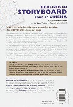 Livres Couvertures de Réaliser un storyboard pour le cinéma