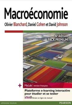 Livres Couvertures de Macroéconomie 6e édition : Pack Premium FR : Livre + eText + MyLab | version française - Licence étudiant 12 mois