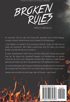 Buchdeckel von BROKEN RULES Frisco und Alex: Der Fire Devils MC 6