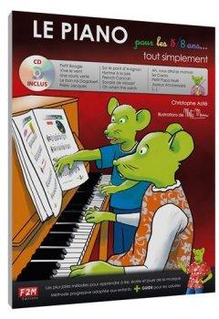 Livres Couvertures de LE PIANO pour les 5/8 ans... tout simplement + CD