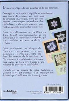 Livres Couvertures de L'Oracle de l'eau : 48 cartes de cristaux d'eau