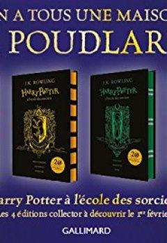 Livres Couvertures de Harry Potter à l'école des sorciers: Poufsouffle