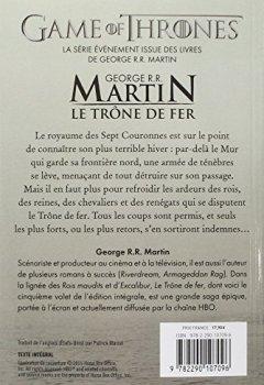 Livres Couvertures de Le trône de fer : L'intégrale, tome 5
