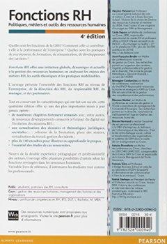 Livres Couvertures de Fonctions RH 4e édition : Politiques, métiers et outils des ressources humaines