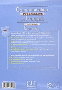 Communication progressive du français - Niveau débutant - Corrigés - 2ème édition de Indie Author