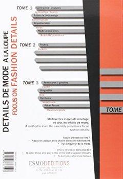 Livres Couvertures de Détails de mode à la loupe : Tome 4, Cols, manches, parementures, entoilages et doublures, édition bilingue français-anglais