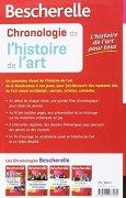 Livres Couvertures de Bescherelle Chronologie de l'histoire de l'art: de la Renaissance à nos jours