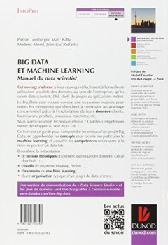 Livres Couvertures de Big Data et Machine Learning - Manuel du data scientist