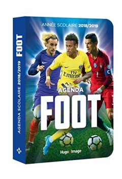 Livres Couvertures de Agenda scolaire 2018-2019 Foot