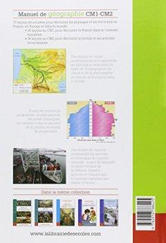 Livres Couvertures de Manuel de géographie CM1 CM2