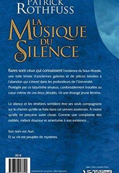 Patrick Rothfuss - La Musique du silence 2019