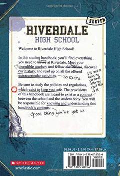 Livres Couvertures de Riverdale Student Handbook (Official)