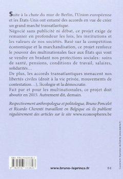 Livres Couvertures de Le grand marché transatlantique : Les multinationales contre la démocratie