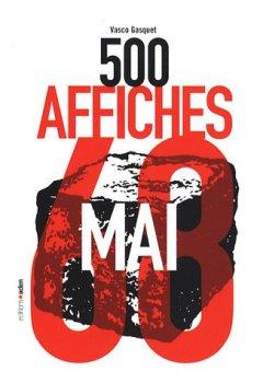 Livres Couvertures de 500 Affiches de Mai 68