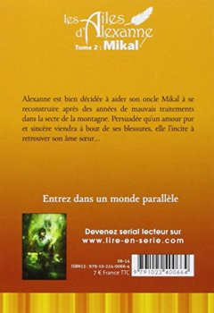 Livres Couvertures de Les Ailes d'Alexanne T02 Mikal (2)
