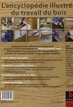 Livres Couvertures de Travail du bois - L'encyclopédie illustrée