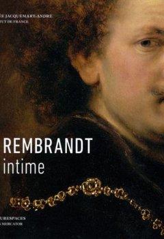 Livres Couvertures de Rembrandt intime