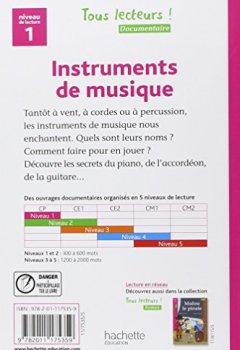 Livres Couvertures de Instruments de musique Niveau 1 - Tous lecteurs ! - Ed.2010