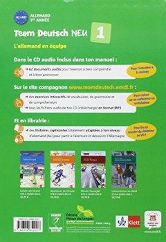 Livres Couvertures de Allemand 1re année A1-A2 : Livre de l'élève (1CD audio)