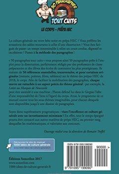 Livres Couvertures de Le corps - Prépa HEC: 50 paragraphes tout cuits