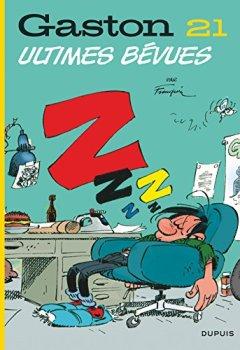 Livres Couvertures de Gaston, Tome 21 : Ultimes bévues