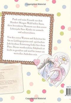 Livres Couvertures de Disney Winnie Puuh - Mein Babybuch