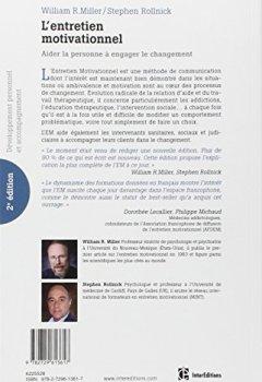 Livres Couvertures de L'entretien motivationnel - 2e éd. - Aider la personne à engager le changement