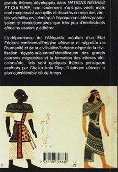 Nations nègres et culture: De l'antiquité nègre égyptienne aux problèmes culturels de l'Afrique Noire d'aujourd'hui de Indie Author