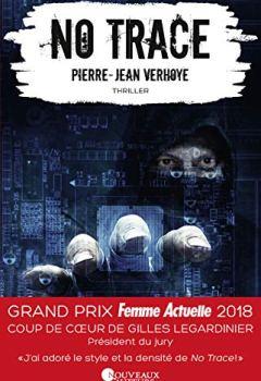 Livres Couvertures de No Trace - Coup de coeur Gilles Legardinier - Prix Femme Actuelle 2018