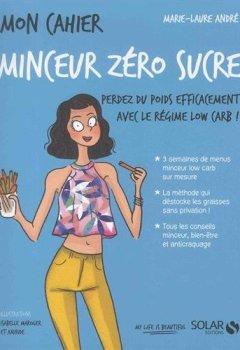 Livres Couvertures de Mon cahier Minceur zéro sucre