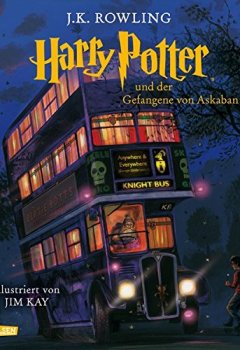 Buchdeckel von Harry Potter und der Gefangene von Askaban (vierfarbig illustrierte Schmuckausgabe) (Harry Potter 3)