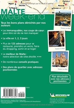Livres Couvertures de Guide Vert Week-End Malte Michelin