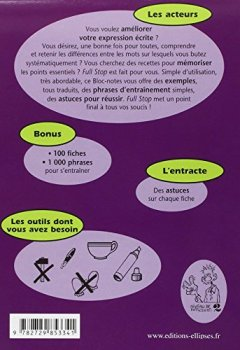 Livres Couvertures de Full Stop ! : Pour enfin maîtriser les 100 pièges classiques de l'anglais Niveau 2