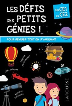 Livres Couvertures de Les Défis des Petits Genies, du CE1 au CE2