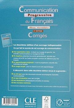 Communication progressive du français - Niveau intermédiaire - Corrigés - 2ème édition de Indie Author