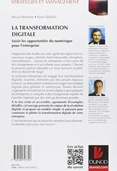 Livres Couvertures de La transformation digitale: Saisir les opportunités du numérique pour l'entreprise