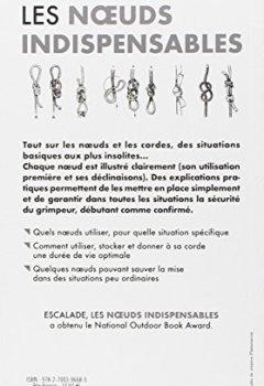 Livres Couvertures de Escalade : Les noeuds indispensables